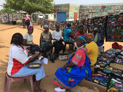 Rwanda women reap what Gauteng embroidery project sewed