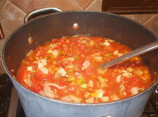 Lower heat and simmer 3-4 hours or until desired thickness is reached, stirring often....