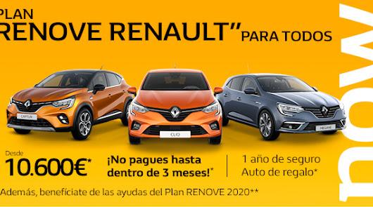 """Plan Renove Renault"" para todos, en  Syrsa"