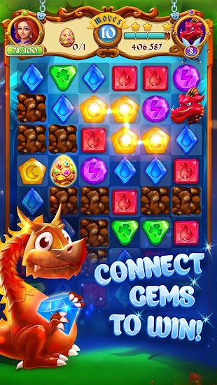 Gems and Dragons: Match 3- screenshot thumbnail
