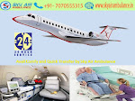Get Sky Air Ambulance with Paramedical Service in Dimapur