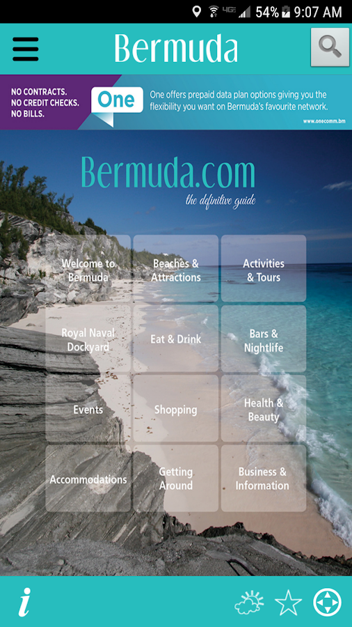 Bermuda.com- screenshot