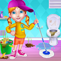 My Messy Home Cleanup - Girls House Cleaning Game icon