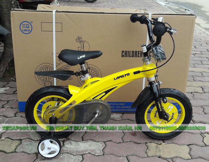 Xe đạp trẻ em chính hãng LanQ, Royalbaby, Stitch, TrinX, Galaxy,... - 4