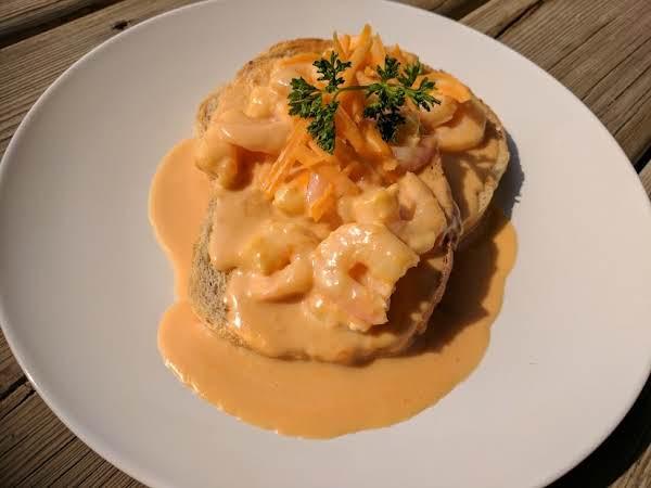 Welsh Rarebit With Shrimp Recipe