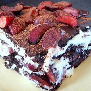 Black Forest Ice Box Cake.