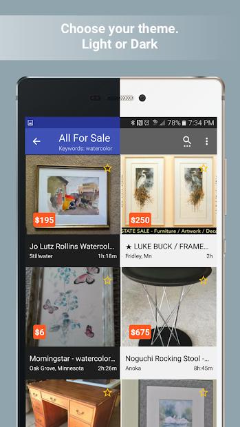 Postings (Craigslist Search App) screenshot 4