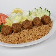 #18 Falafel Plate