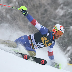 Slalom by Igor Martinšek - Sports & Fitness Snow Sports