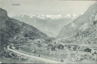 Photo: Lærdalen 1905