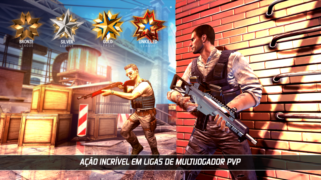 UNKILLED: FPS SURVIVAL: captura de tela