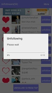 Unfollow for Instagram - náhled