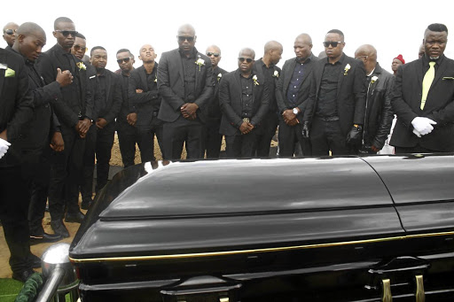 Friends and family of Caswell Maseko paid tribute to the slain businessman who was laid to rest yesterday.