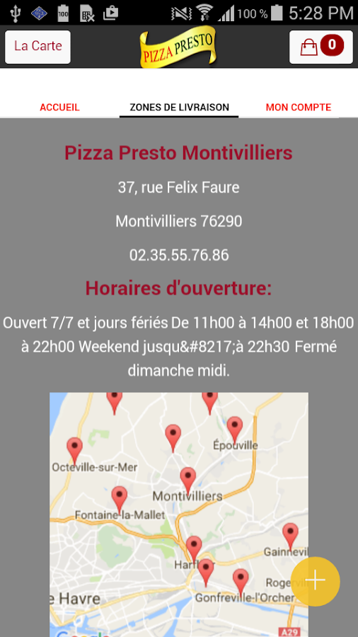 Pizza Montivilliers 76- screenshot