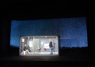 Photo: Wien/ AKADEMIETHEATER: BELLA FIGURA von Yasmin Reza. Inszenierung: Dieter Giesing. Premiere: 3. 4,2016. Caroline Peters, Joachim Meyerhoff.  Copyright: Barbara Zeininger