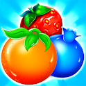 Fruta caramelo bar icon