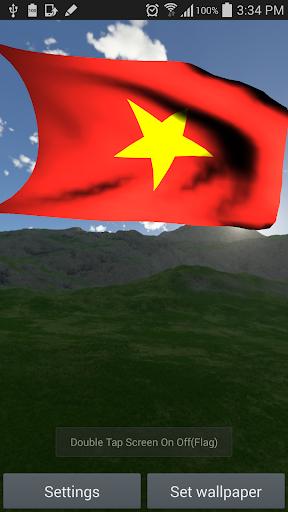 Hình nền động lá cờ Việt Nam