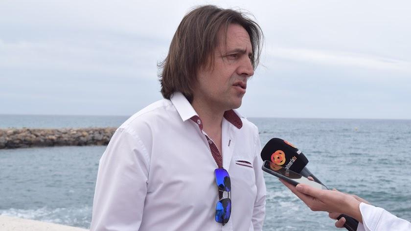 Rafael Burgos, coordinador de Cs en Almería.