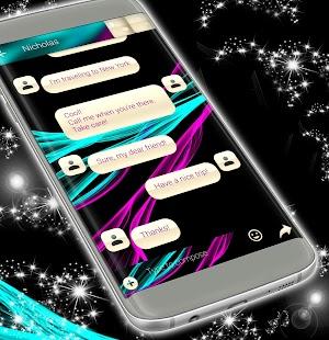 SMS téma Neon - náhled