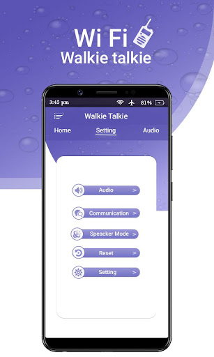 Wifi Walkie Talkie - Bluetooth Walkie Talkie App Report on