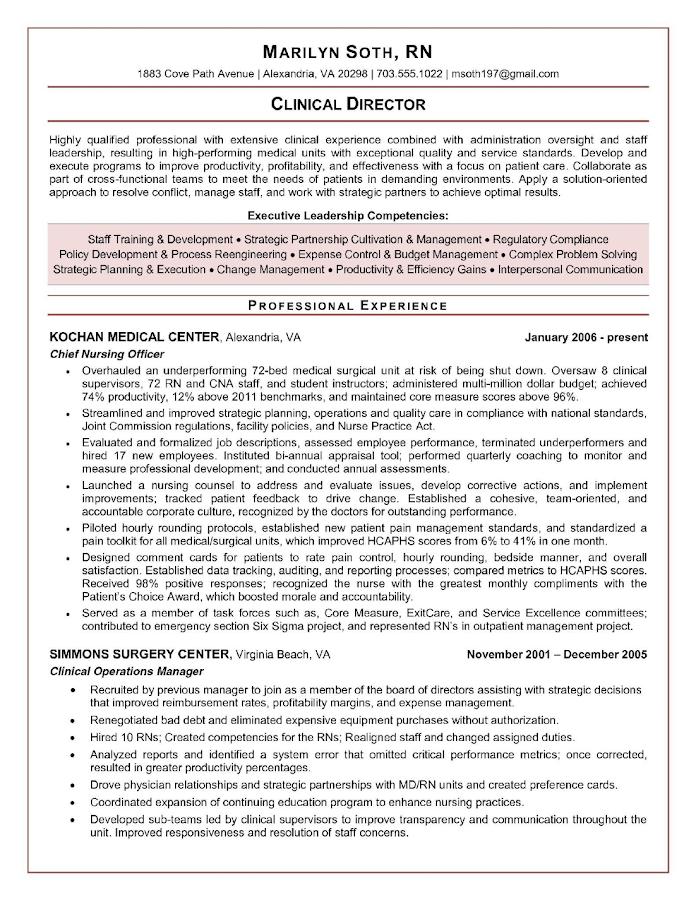 resume formats 2018