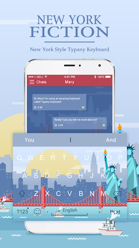 mod New York Fiction Typany Theme 4.5 screenshots 1