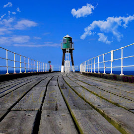 Whitby Pier North Yorkshire England by James Morris - Buildings & Architecture Other Interior ( england, pier, yorkshire, north, whitby )