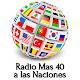 Download Radio Mas 40 a las Naciones For PC Windows and Mac