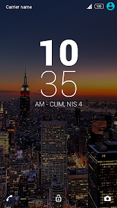 City Xperia Theme screenshot 0
