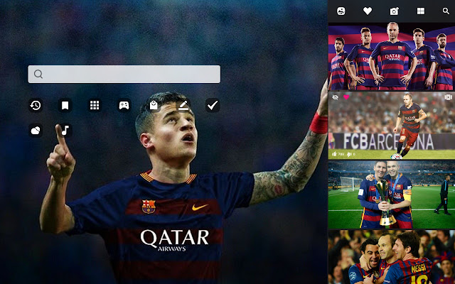 Fc Barcelona Hd Wallpaper New Tab Theme