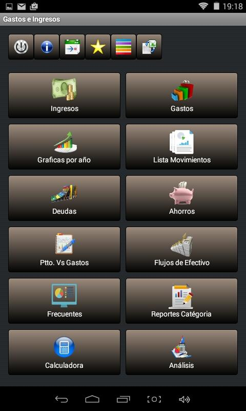Control Gastos e Ingresos- screenshot