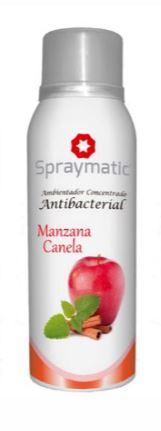 ambientador spraymatic manzana/canela 100gr