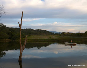 Photo: We arrive in Jalisco at Rancho Primavera, outside Tuito, Jalisco; evening at the main pond