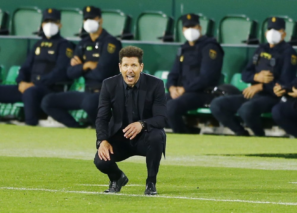 Pressure on stuttering Atletico as Real close gap in title race