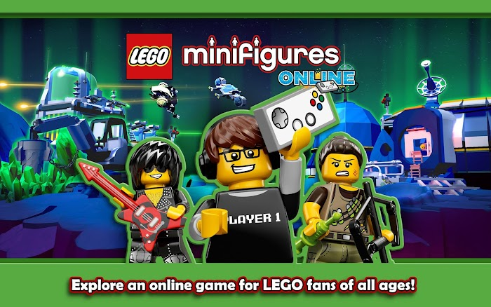 LEGO® Minifigures Online - screenshot