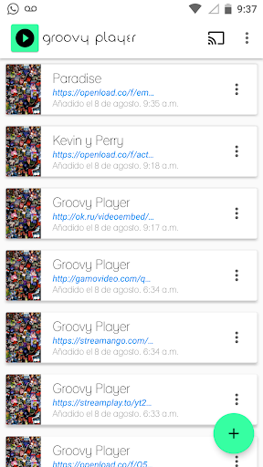Groovy Player 1.3.8 screenshots 1