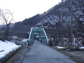 有家ケ原橋を渡って終了