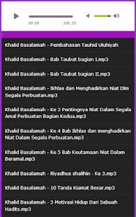 Dr Khalid Basalamah, Mp3 Terbaik - náhled