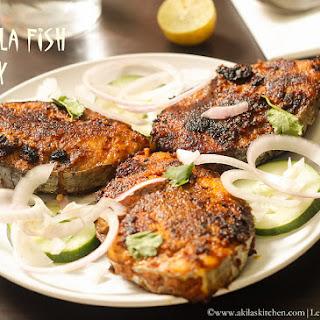 How to make Masala Fish Fry.