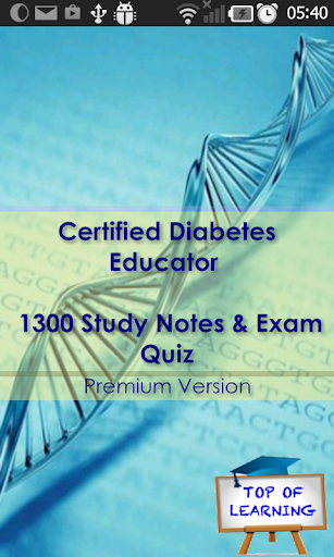 CDE Diabetes Educator Certifca