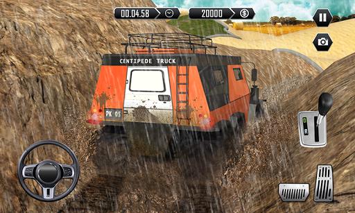 Offroad Centipede Truck Simulator 2018: Mud-runner 1.0.7 screenshots 2