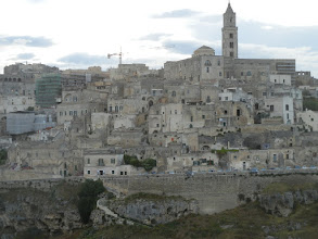 Photo: Another shot of Matera from the cliff opposite it