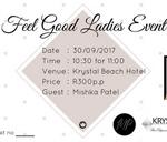 Feel Good Ladies Event : Krystal Beach Hotel