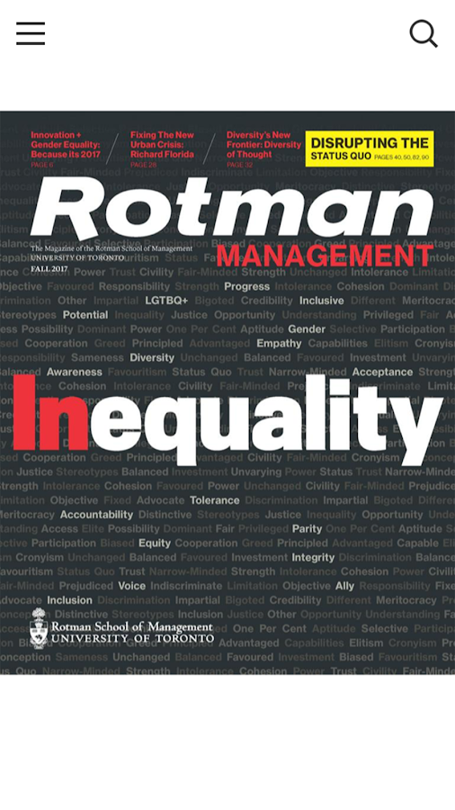 Rotman Management Magazine- screenshot