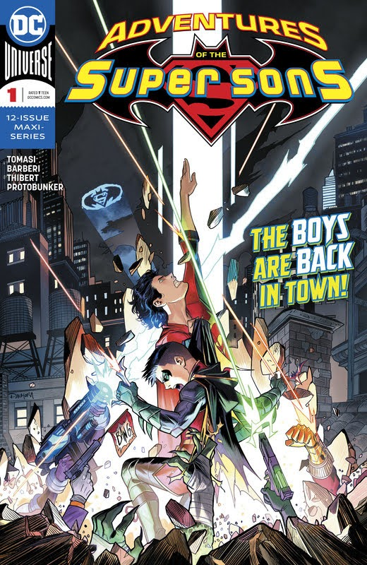 Adventures of the Super Sons (2018) - complete
