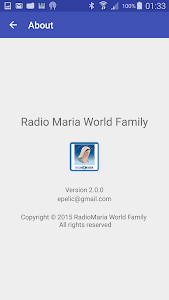 Radio Maria World Family screenshot 14