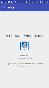 Radio Maria World Family- screenshot thumbnail