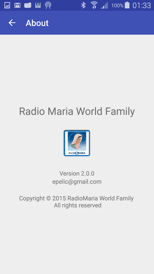 Radio Maria World Family- screenshot