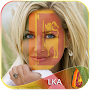 Sri Lanka Flag Face Paint-Cool Art Photo APK icon