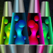 Lava lamp relax magic fluids lights